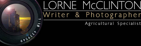 Lorne McClinton Writer Photographer)